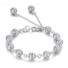 Atlas Jewels Women's .925 Sterling Silver Open Bead Petite Fashion Bracelet Jewelry  http://electmejewellery.com/jewelry/bracelets/link/atlas-jewels-women39s-925-sterling-silver-open-bead-petite-fashion-bracelet-jewelry-com/