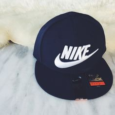 Nike Navy Blue Wool Snapback Hat •The Nike Futura True 2 Snapback features an embroidered logo for style and wool construction with an adjustable closure for a comfortable fit.   •Unisex hat, new with tag.  •NO TRADES/PAYPAL/MERC/HOLDS/NONSENSE. Nike Accessories Hats