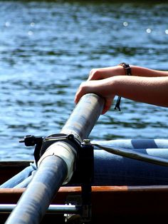 A sweep oar