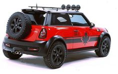 Seeing Red - MINI Cooper S Countryman All4