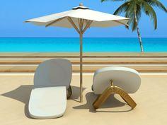 Flip flop loung chairs! The design is called Cadeira Feet by DP Arquitetura, Brazil.