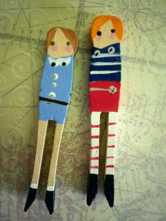 Clothespin Kids