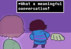 """goldreaver """"Chara seems tired of Frisk's aimless shenanigans"""" http://flavor-text- chara.tumblr.com/tagged/chara/chrono/page/5"""