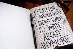 Story of my journal....sadly