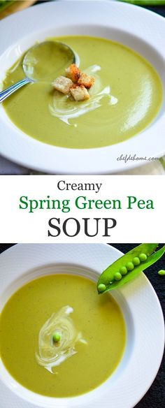 Healthy Soup Recipes, Raw Food Recipes, Gluten Free Recipes, Cooking Recipes, Vegetarian Soup, Vegan Soup, Vegetarian Recipes, Vegetarian Dinners, Green Soup