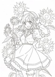 Sailor Moon Coloring Pages, Coloring Pages For Girls, Colouring Pages, Printable Coloring Pages, Manga Coloring Book, Coloring Books, Anime Lineart, Anime Girl Drawings, A4 Paper
