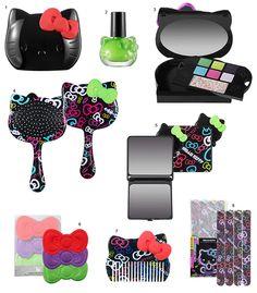 Maquiagem Sephora Hello Kitty Beauty Tokyo Pop Collection.