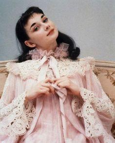 Audrey Hepburn as Gigi. 1951.