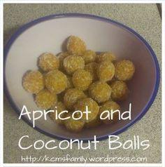 Recipe - Apricot and Coconut Balls