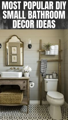 Diy Bathroom Idea On A Budget. 20 Diy Bathroom Idea On A Budget. 26 Best Diy Bathroom Ideas and Designs for 2020 Bathroom Styling, Bathroom Storage, Wall Storage, Toilet Storage, Cabinet Storage, Led Deckeneinbauleuchten, Very Small Bathroom, Simple Bathroom, Bathroom Modern