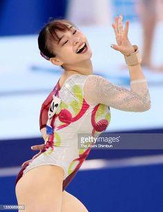 Floor Workouts, Gymnastics Girls, Aiko, Bikini Babes, Athlete, Exercise, Japan, Bikinis, Sports