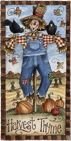 ❤️ this scarecrow!