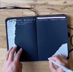 Bullet Journal Mood Tracker Ideas, Bullet Journal Lettering Ideas, Bullet Journal Notebook, Bullet Journal Ideas Pages, Bullet Journal Inspiration, Art Journal Pages, Drawing Journal, Bullet Journal Aesthetic, Lettering Tutorial