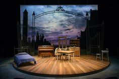 Chapatti. Northlight Theatre. Set design by Jack Magaw.