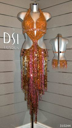DSI Latin Ballroom Dress