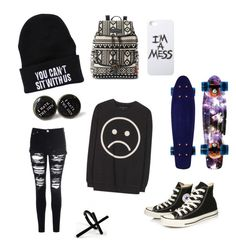 """Monday"" by katie-benefiel ❤ liked on Polyvore"