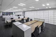 Open Office, Cafe Restaurant, Office Interiors, Workplace, Conference Room, Ceiling, Spaces, Studio, Modern