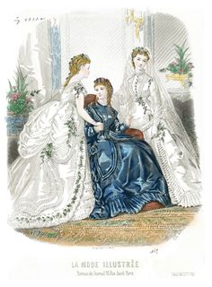 1869 La Mode Illustrée