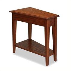 Bowery Hill Favorite Finds Recliner Wedge Table in Medium Oak https://bestsofatablereviews.info/bowery-hill-favorite-finds-recliner-wedge-table-in-medium-oak/