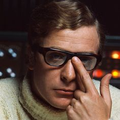 Michael Caine by Dr. Insermini on Flickr.