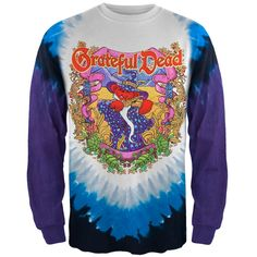 Grateful Dead - Terrapin Moon Tie Dye Long Sleeve T-Shirt | OldGlory.com