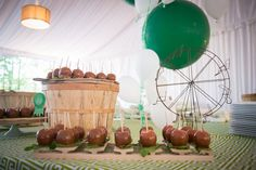 <p> The Biltmore catering team put together a North Carolina state-fair-themed afternoon break spread that included butler-passed corn dogs, whoopie...