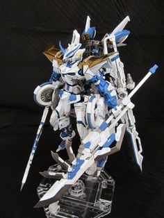 GUNDAM GUY: MG 1/100 Blue Frame - Customized Build