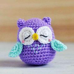 Free Owl Amigurumi Crochet Pattern http://wixxl.com/free-owl-amigurumi-crochet-pattern/