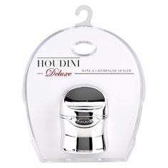 Houdini Wine Sealer - Silver - Target, $7 (Or, any wine sealer that also seals for champagne)
