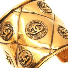 Vintage Chanel cuff yes please Chanel Jewelry, Jewelery, Gabrielle Bonheur Chanel, Jewelry Accessories, Fashion Accessories, Coco Chanel, Chanel Bags, Chanel Handbags, Chanel Fashion