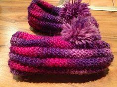 Arkimamman Arkiralli: Eila-mummun tossut Eilat, Knitted Slippers, Footwear, Crochet, Shoes, Tips, Fashion, Tricot, Moda