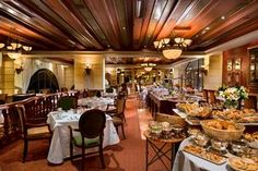 Michelangelo hotel high tea at the Il Ritrovo lounge. Aim for the weekend buffet Lindt high tea.