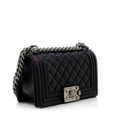 Chanel Small Boy Bag – Black