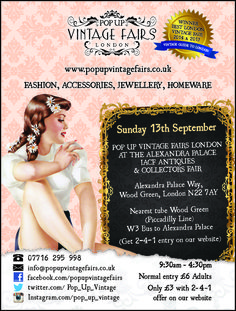 Pop Up Vintage Fairs London