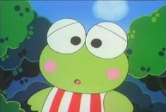 Keroppi and his friends Cartoon Icons, Cute Cartoon, Vintage Cartoon, Sanrio Characters, Cute Characters, Looney Toons, Cute Icons, Art Inspo, Memes