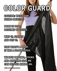 "Unframed Color Guard Flag 8"" x 10"" Poster Print"