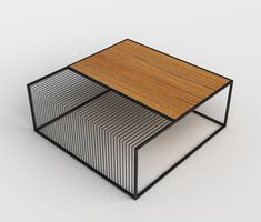Grill Table by Zeren Saglamer Wood and metal coffee table Industrial Furniture, Wood Furniture, Furniture Design, Furniture Stores, Grill Table, Furniture Inspiration, Wood And Metal, Contemporary Furniture, Decoration