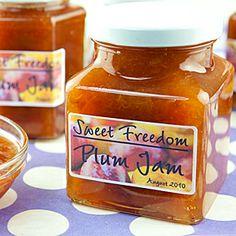 Enjoy guilt free no added sugar jam made with Sweet Freedom Original natural sweetener.