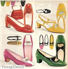 Mod Fashion, 1960s Fashion, Royal Fashion, Vintage Fashion, Vintage Shoes, Vintage Dresses, Vintage Outfits, Vintage Clothing, Baby Doll Pajamas