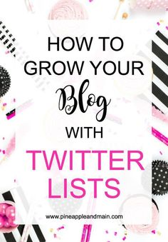 The constant stream of information from Social Media is overwhelming. To organize Social Media and grow your blog, use Twitter Lists!
