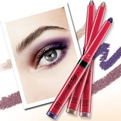 Is the warm, humid weather wreaking havoc on your eye shadow? Opt for Avon's new Extra Lasting Eyeshadow Pencil. Formulated with ColorLock Complex, it's transfer-resistant, waterproof, rub- & fade-proof, too! Available in 10 gorgeous shades, including Smoky Plum & Topaz Shimmer, as shown here. #VeetVixen