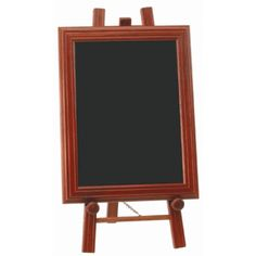 Mahogany Easel and Chalkboard Just £51.12! Next Day Delivery. 650mm Tall. 310 x 370mm Blackboard. #chalkboard #blackboard #display