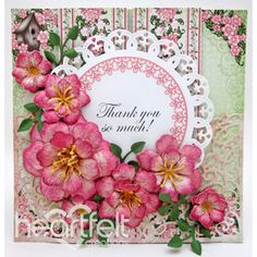 Gallery | Pink Arianna Blooms - Heartfelt Creations
