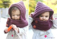 Crochet Hooded Cowl Free Pattern
