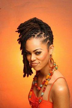 Locs Updo #dreadstop :: Shop Natural Hair Accessories at DreadStop.Com