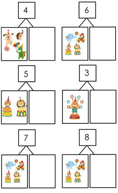 Splitsen Theme Carnaval, Circus Theme, Paper Toys, Life Cycles, Math Games, Worksheets, Activities For Kids, Teaching, Early Education