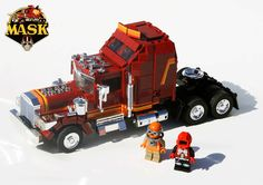 Orion Pack : M.A.S.K. Lego