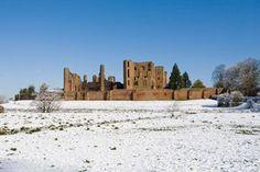 Kenilworth Castle, stronghold of Simon de Montfort in the 13th century