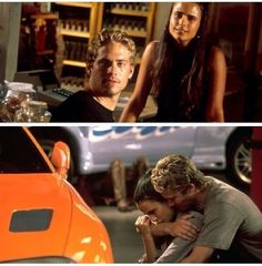 The fast and the furious - Mia & Brian