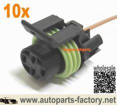 longyue 10pcs Speed Sensor VSS 3 Terminal & Pigtail